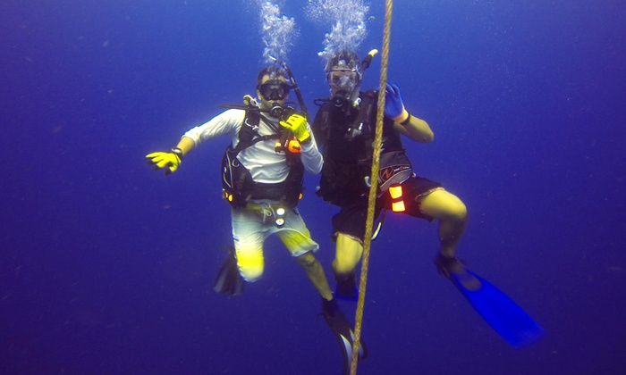 Keys Huka and Scuba - Keys Huka and Scuba: $130 for a Three-Hour Hookah Dive and Snorkel Session for Two from Keys Huka and Scuba ($260 Value)