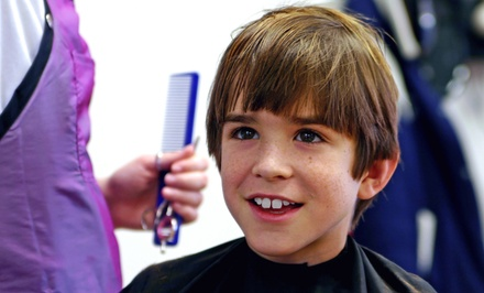 Kids' Haircuts or Adult Haircut Packages at Jere's Fresh Start Salon (Up to 55% Off). Three Options Available.