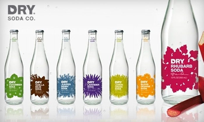 DRY Soda - Seattle: $3 for Dry Soda Tasting, Four Pack, and Purchase Discount ($6 Value)
