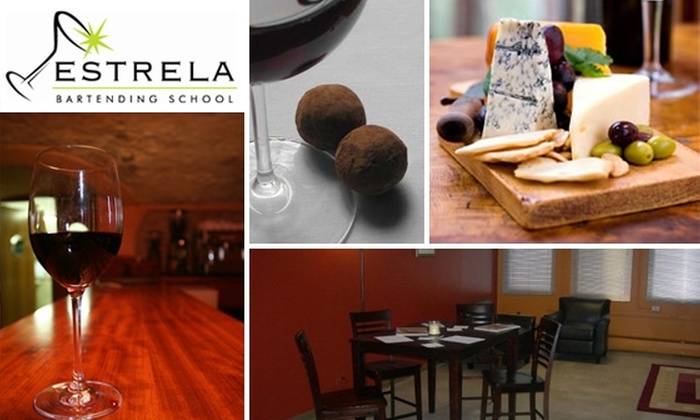 Estrela Bartending School - Washington Virginia Vale: Choice of Two Wine Classes at Estrela Bartending School