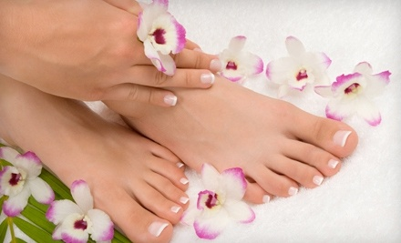 Manicure and Pedicure (a $35 value) - Fancie Nail & Beauty Spa in Manhattan