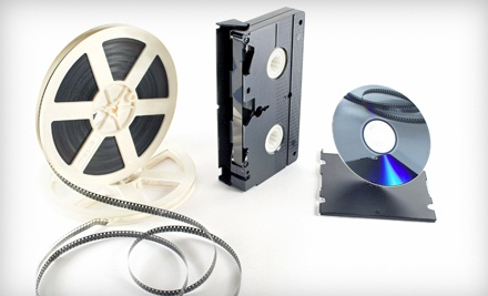 3 VHS, Super 8, MiniDV or Hi8 Tapes Transfered to DVD (a $60 value) - Glory Years in Cincinnati