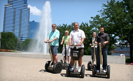 One 30-Minute Indoor Segway Ride (a $50 value) - Segway Tours of Grand Rapids in Grand Rapids