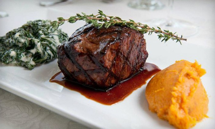 Water's Edge - Long Island City: Gourmet Fare at Water's Edge in Long Island City (Half Off). Two Options Available.