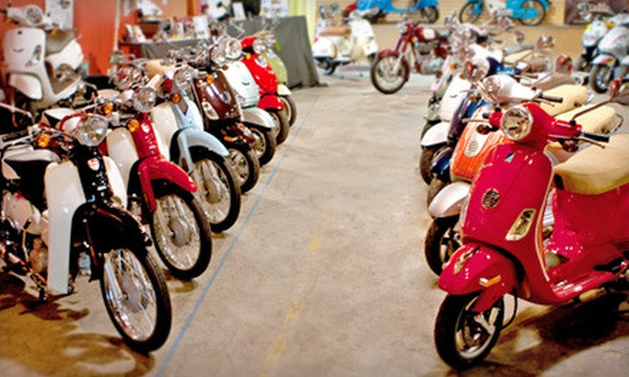 Classic Scooter & Cycle - Northwest District: Scooters or Motorcycles at Classic Scooter & Cycle (Up to 58% Off). Three Options Available.