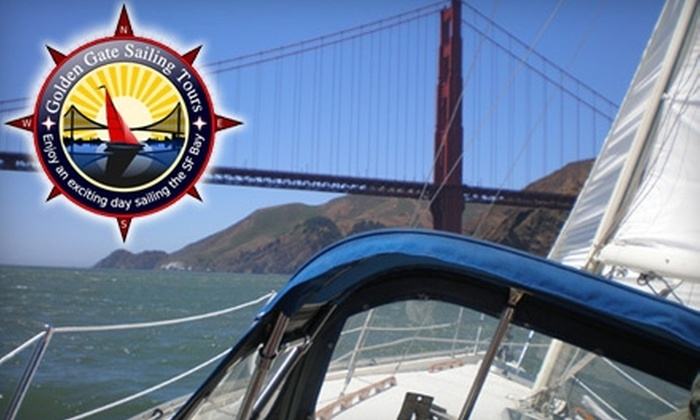 Golden Gate Sailing Tours - Treasure Island: $99 for Three Hours of Sailing on the Bay for Up to Three People (Up to $375 Value)