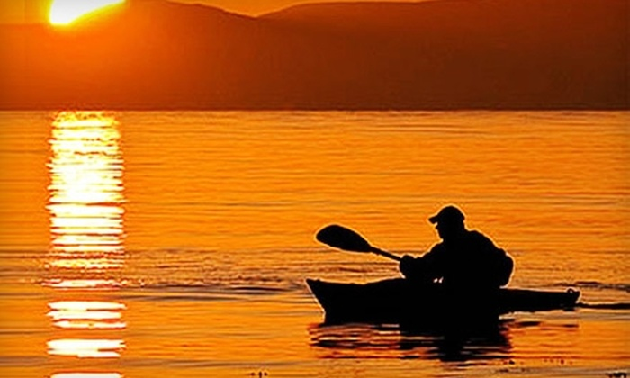 The WaterFront Center - Oyster Bay: Kayaking for Two at The WaterFront Center in Oyster Bay. Two Options Available.