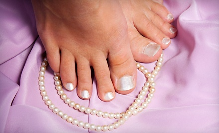 European Manicure (a $20 value) - Alandre Salon & Day Spa in Northville
