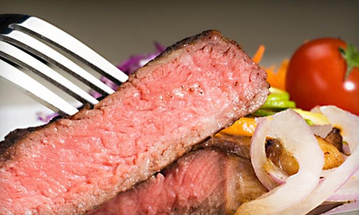 Cattleguard Restaurant & Bar - Energy Corridor: $15 for $30 Worth of Steak House Fare at Cattleguard Restaurant & Bar