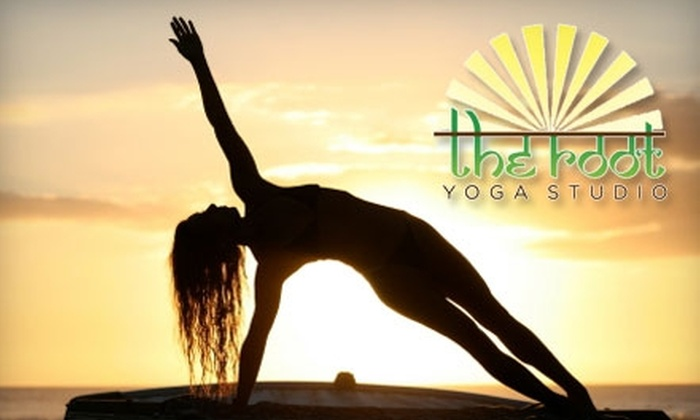 The Root Yoga - Downtown El Paso: $9 for Three Drop-In Classes at The Root Yoga ($24 Value)