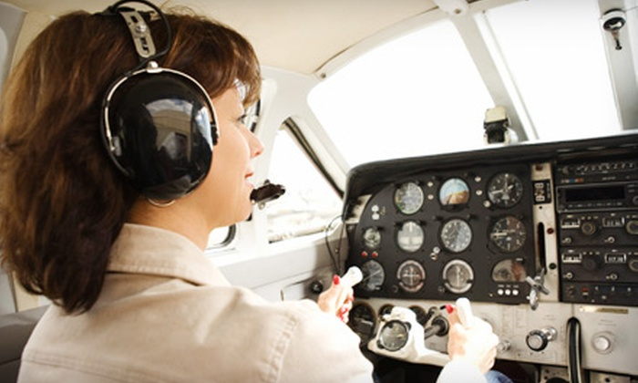 Centerline Aviation - Gray's Creek: $75 for a Discovery Flight from Centerline Aviation in Fayetteville ($150 Value)