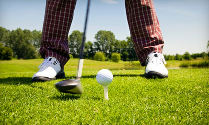 Brent Bruehl Memorial Golf Course - Purcell: $25 for a Golf Outing with Greens Fees and Range Balls for Two at the Brent Bruehl Memorial Golf Course in Purcell ($50 Value)