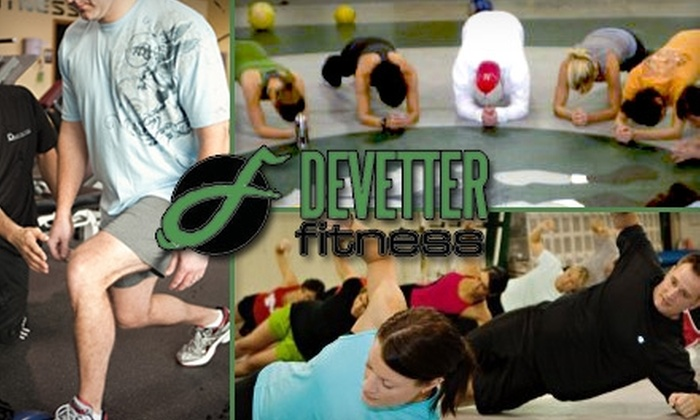 Devetter Fitness - West Omaha: $40 One-Month Boot-Camp Membership at DeVetter Fitness