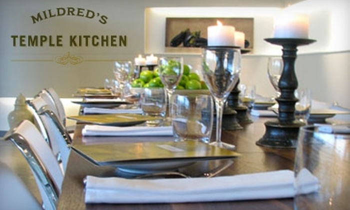 Mildred's Temple Kitchen - Liberty Village: $30 for $60 Worth of Dinner or $15 for $30 Worth of Lunch at Mildred's Temple Kitchen