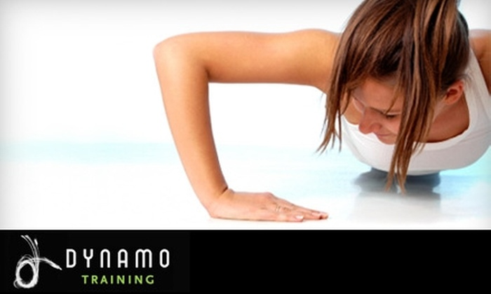 Dynamo Training - Downtown: $19 for Five Boot Camp Classes from Dynamo Training ($112 Value)