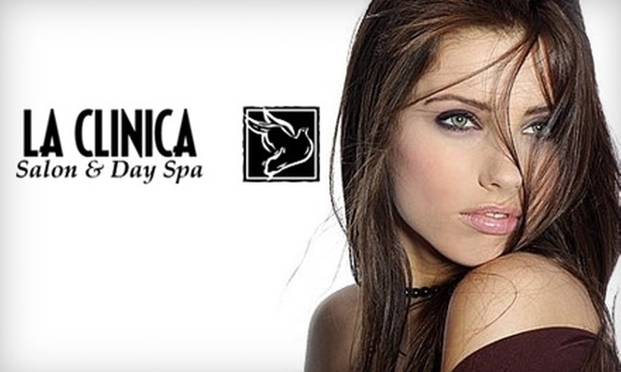 La Clinica Salon & Day Spa - Lutherville - Timonium: $24 for a Haircut, Japanese Conditioning Treatment, and Style at La Clinica Salon & Day Spa ($88 Value)