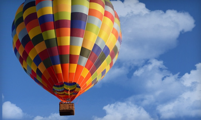 Tucson Balloon Rides - Tuscon: $126 for a Hot Air Balloon Adventure with a Champagne Brunch from Tucson Balloon Rides ($235 Value)