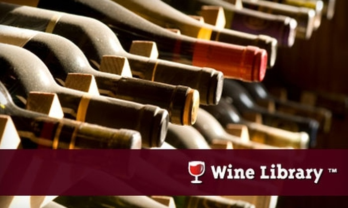 Wine Library - Las Vegas: Fine Wine Delivered to Your Door from the Wine Library. Choose to Purchase One Bottle or Three Bottles.