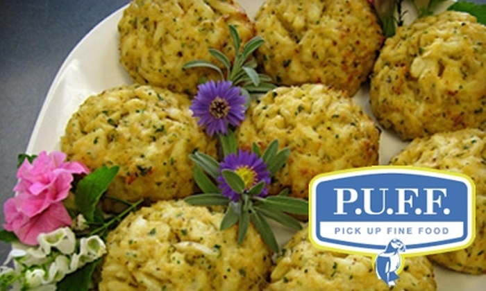 P.U.F.F. - Piedmont: $10 for $20 Worth of Gourmet Prepared Meals and Catering at P.U.F.F.