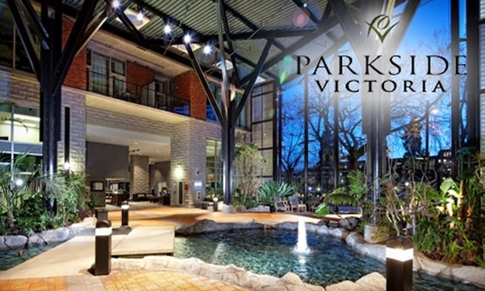 Parkside Victoria Resort & Spa - Downtown: $299 for a Two-Night Stay and a Half-Hour Massage at Parkside Victoria Resort & Spa