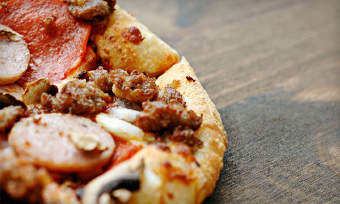 Doughboys Pizza - Raintree Lake Estates: $10 for $20 Worth of Chicago-Style Pizza, Sandwiches, and Brews at Doughboys Pizza in Harrisonville