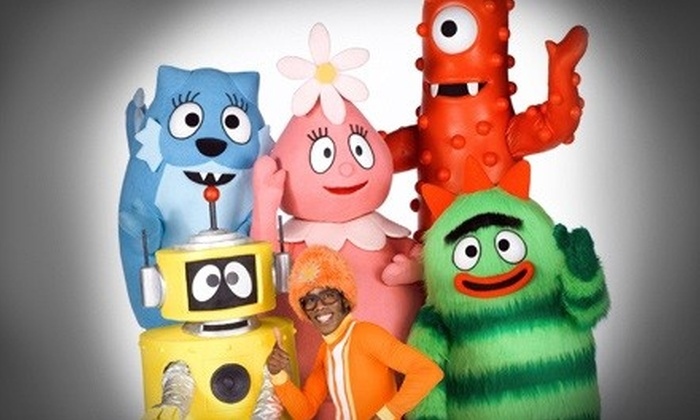 Yo Gabba Gabba! Live! It's Time to Dance! - Sailboat Bend: One Ticket to Yo Gabba Gabba! Live! It's Time to Dance! at Broward Center for the Performing Arts. Three Options Available.
