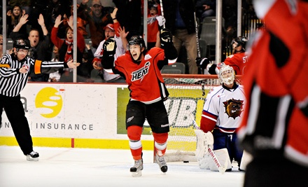 Abbotsford Heat vs. Oklahoma City on Thurs., Nov. 3 at 7PM: Blue Area Seating - Abbotsford Heat Hockey in Abbotsford