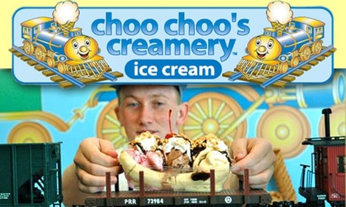 Choo Choo's Creamery - Keller: $3 for $6 Worth of Ice Cream at Choo Choo's Creamery
