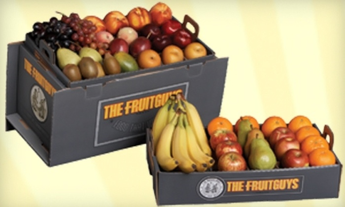 The FruitGuys: $44 for a Harvest Flyer Fruit Box from The FruitGuys ($74 Value)