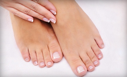 Classic Manicure and Pedicure (a $50 value) - Once Upon A Nail in Roanoke