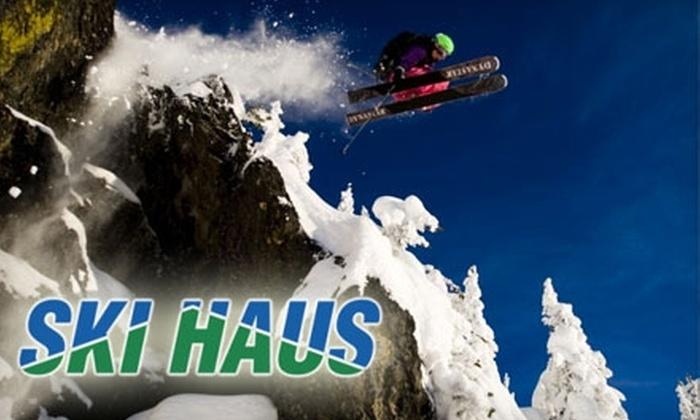 Ski Haus - Multiple Locations: $20 for a Premium Ski Tune-up and Full-Season Buffing Pass at Ski Haus