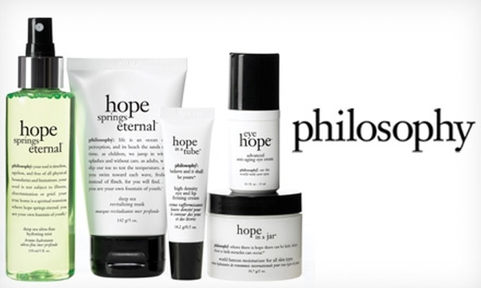 philosophy - Mesa: $25 for $50 Worth of philosophy Skin Care Products