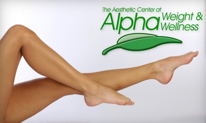 Alpha Weight & Wellness - Azalea Park: $99 for Two Spider-Vein Laser Treatments at Alpha Weight & Wellness Medical Clinic (Up to $900 Value)