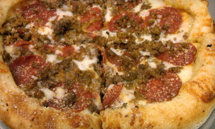 Johnny B's Pizza Pad & Watering Hole - Belmont: Pizza Dinner for Two, Four, or Six at Johnny B's Pizza Pad & Watering Hole in Belmont