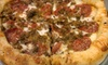 Up to 56% Off at Johnny B's Pizza Pad & Watering Hole in Belmont