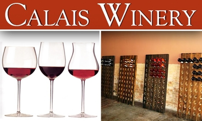 Calais Winery  - East Dallas: $7 for Wine Tasting Class at Calais Winery ($15 Value)