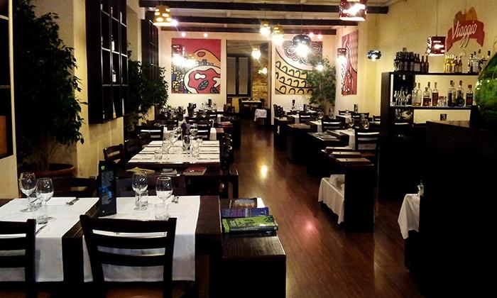 Ristorante Viaggio - RISTORANTE VIAGGIO: Menu di pesce in 4 portate e vino (sconto fino a 70%)