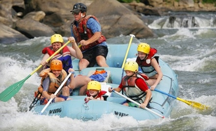 New & Gauley River Adventures: 1-Day Whitewater-Rafting Package with 2 Nights of Camping on Weekdays - New & Gauley River Adventures in New Haven