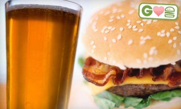 4th Street Brewing Co. - Gresham - City Central: $10 for a Burger, Fries, and a Beer at 4th Street Brewing Co. in Gresham (Up to $19.75 Value)