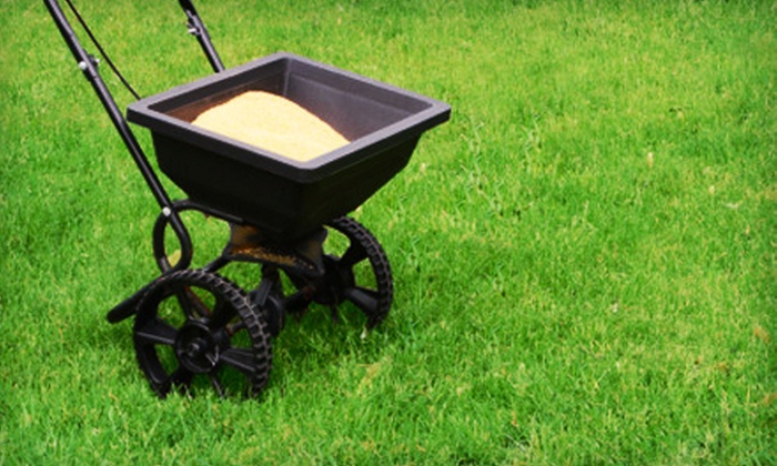 Green Lawn Fertilizing - West Goshen: Lawn-Care Package with Fertilization, Weed Control, and Crab-Grass Control for a Quarter-, Half-, or Full Acre Area from Green Lawn Fertilizing (Up to 62% Off)