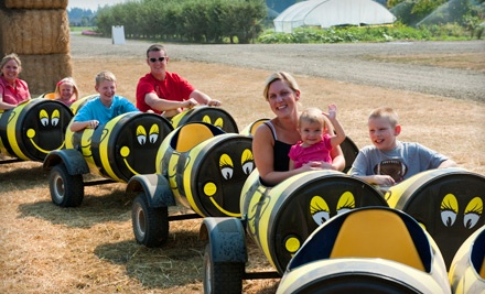 2 Activity Stickers Valid During the Week for the Pumpkin Patch and All Weekday Activities (a $12 value) - Bauman's Farm & Garden in Gervais