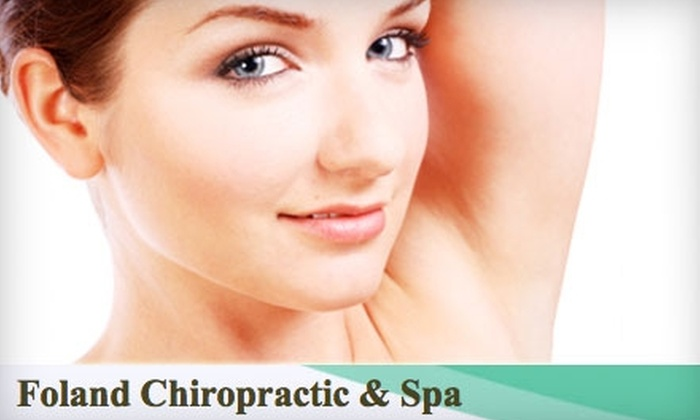 Foland Chiropractic & Spa - Mandarin: $119 for Three Laser Hair-Removal Treatments at Foland Chiropractic & Spa (Up to $375 Value)