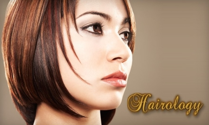 Hairology - Clovis: $15 for a Shampoo, Haircut, and Style at Hairology in Clovis