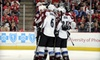 Colorado Avalanche - Auraria: Upper- or Lower-Level Ticket and T-Shirt at Colorado Avalanche Game on November 10 at 7 p.m. (Up to 52% Off)