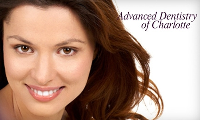 Advanced Dentistry of Charlotte - Myers Park: $89 for General or Cosmetic Treatment at Advanced Dentistry of Charlotte (Up to $687 Value). Three Options Available.