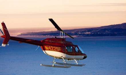 $438 for a Whale-Watching Tour for Up to Three People from Specialized Helicopters ($675 Value)