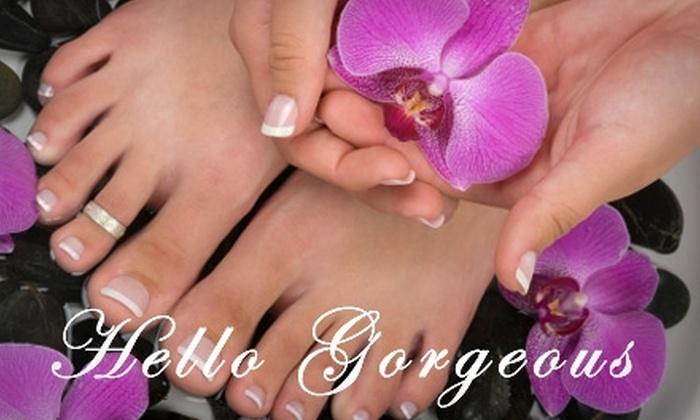 Hello Gorgeous Salon and Spa - Las Vegas: $29 for a Mani-Pedi at Hello Gorgeous Salon and Spa