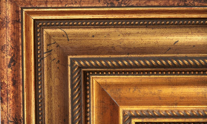 Canyon Gallery & Framing - Cornerstone: Custom and Premade Framing at Canyon Gallery & Framing (61% Off). Two Options Available.