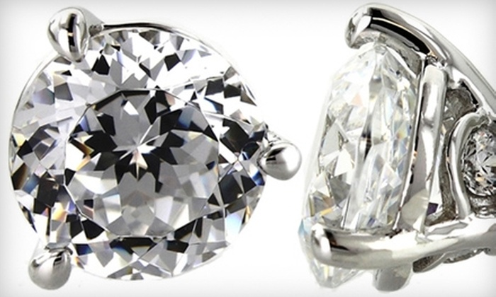 Kassab Jewelers - Evergreen: $89 for Tacori IV Sterling-Silver Earrings at Kassab Jewelers ($178 Value)