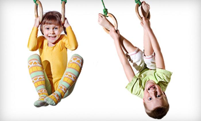 Hartland Gymnastics - Howell: $20 for Five Open-Gym Play Nights at Hartland Gymnastics in Howell ($40 Value)